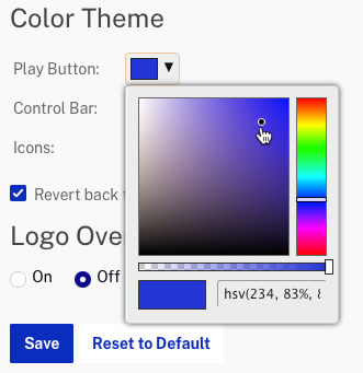 icon color